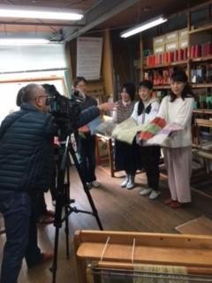 NHK「しまねっとニュース」取材