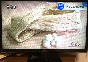 キビソ糸と繭
